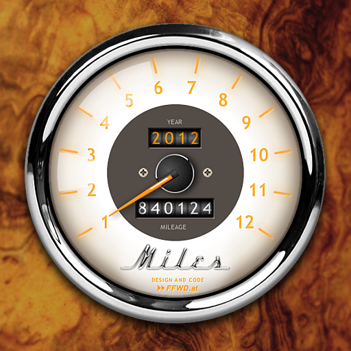 Miles Log Ios app icon, App icon, Ios icon