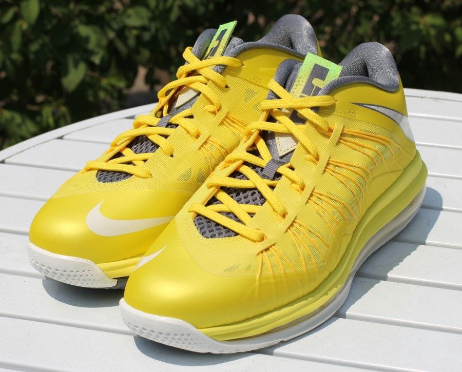 info for d140e 04d61 Sonic Yellow Nike LeBron 10 Low
