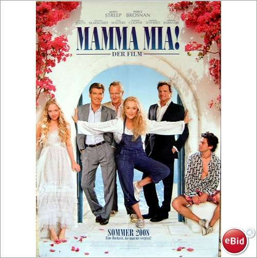 abba mamma mia the movie poster cinema poster 2