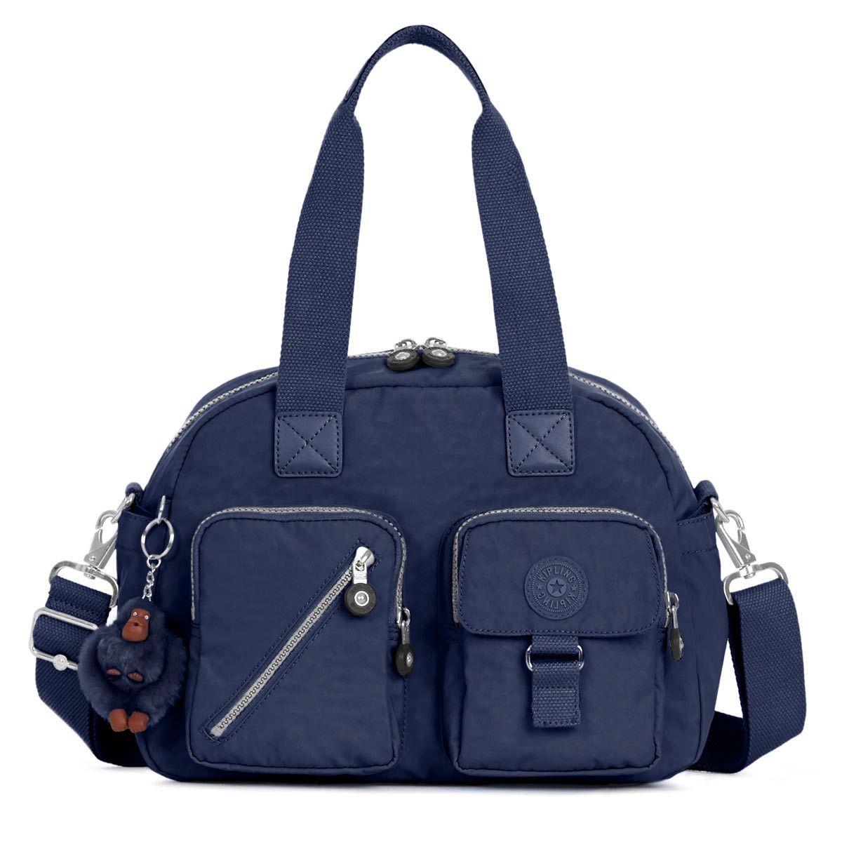 531d1d073 Kipling HB3170-414 Women's Defea True Blue Nylon Crossbody Satchel ...
