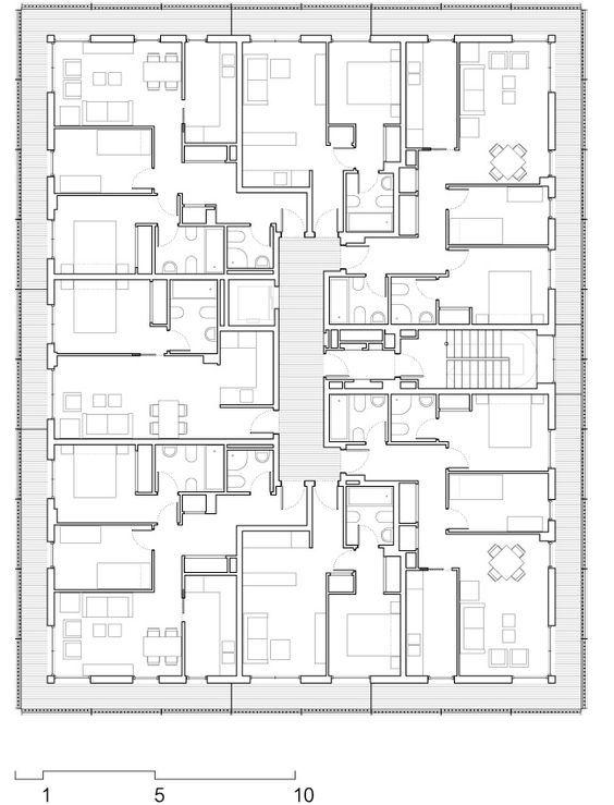 Social Housing at Boera Park Pe n Architects OAB Edifica – Social Housing Plans