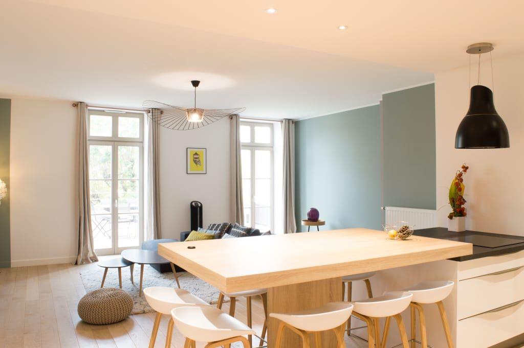 Photos de cuisine de style de style scandinave  jeu de couleurs sur - creer un plan de maison