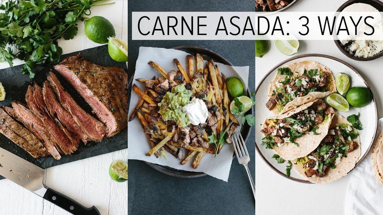 CARNE ASADA | plus carne asada fries + carne asada tacos #asadatacos