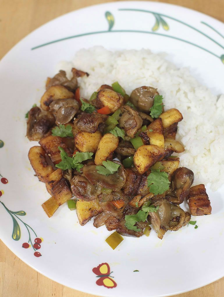 chicken gizzards and saba banana stir fry recipe what s for dinner pinterest chicken gizzards boil chicken and stirfry recipe