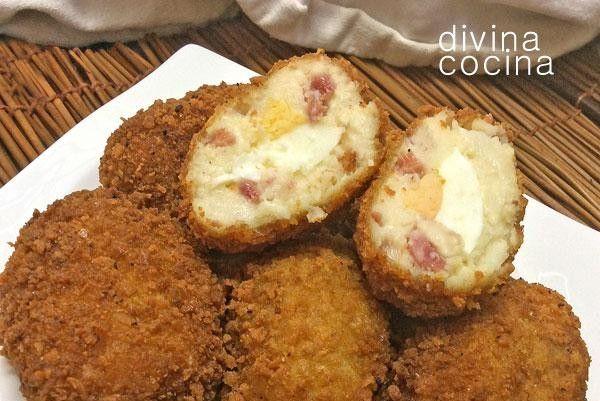 receta de huevos con bechamel divina cocina - Divina Cocina