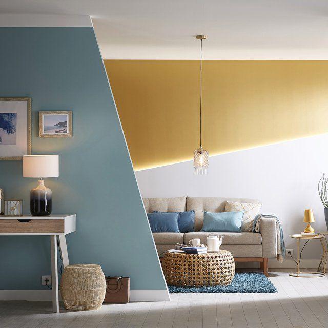 Catalogue leroy merlin 10 bonnes id es d co piquer sans culpabiliser salons living - Conseils sur la disposition des meubles pour agrandir un salon ...