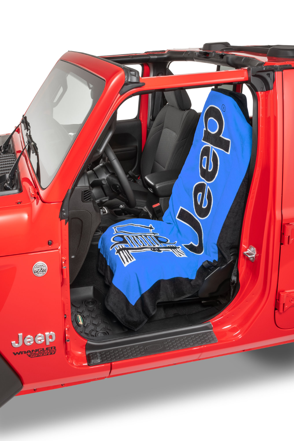 Insync Jeep Logo Towel 2 Go Seat Cover In 2020 Jeep Logo Towels Jeep Covers