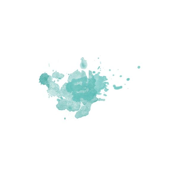 Watercolor Splash Teal Found On Polyvore Watercolor Splash Png Watercolor Splash Paint Splash