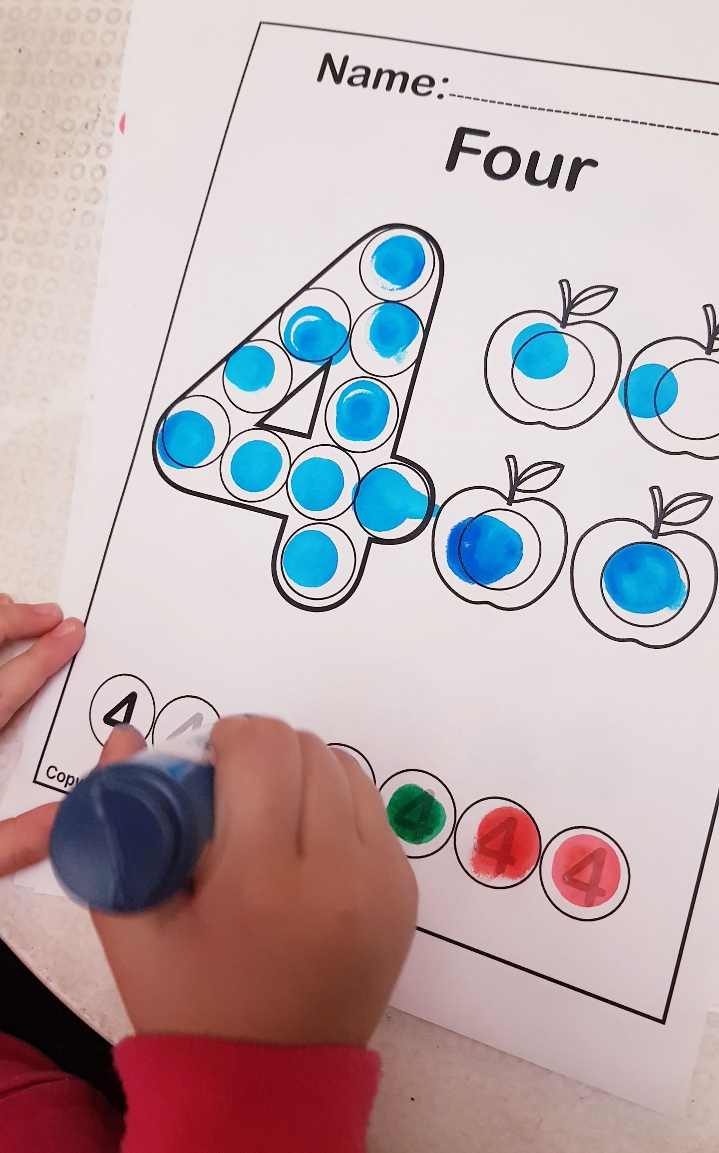 123 Numbers Do Dot Marker Free Preschool Coloring Pages Count Apples Counting Activities Preschool Numbers Preschool Free Preschool Printables [ 2310 x 1440 Pixel ]