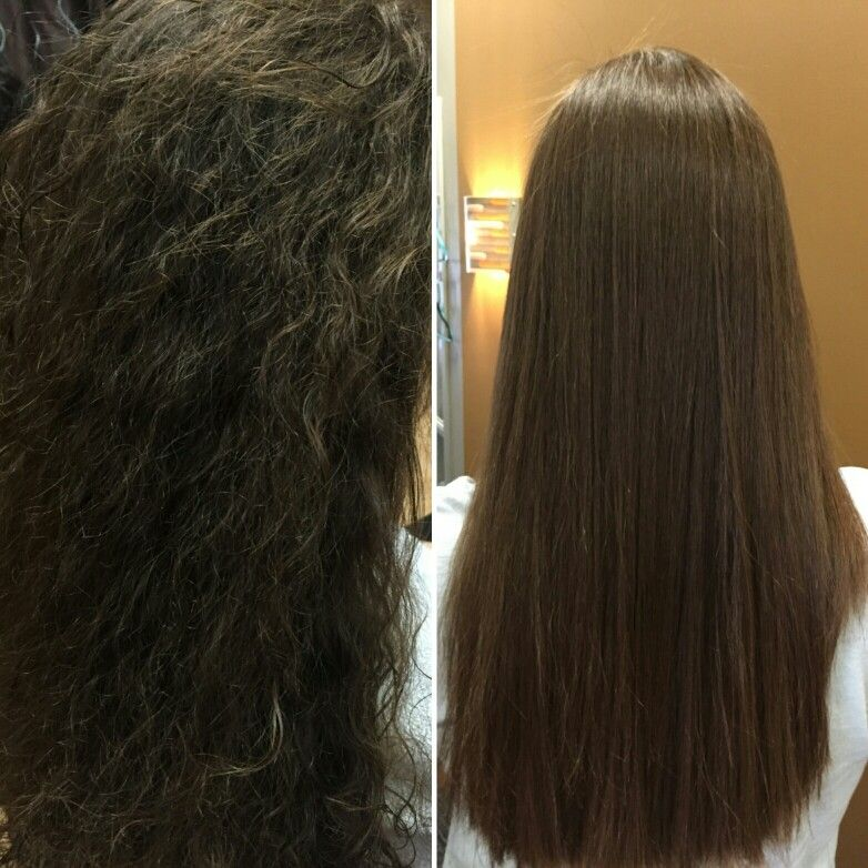 Before And After Japanese Hair Straightening Salon Trendz 708671