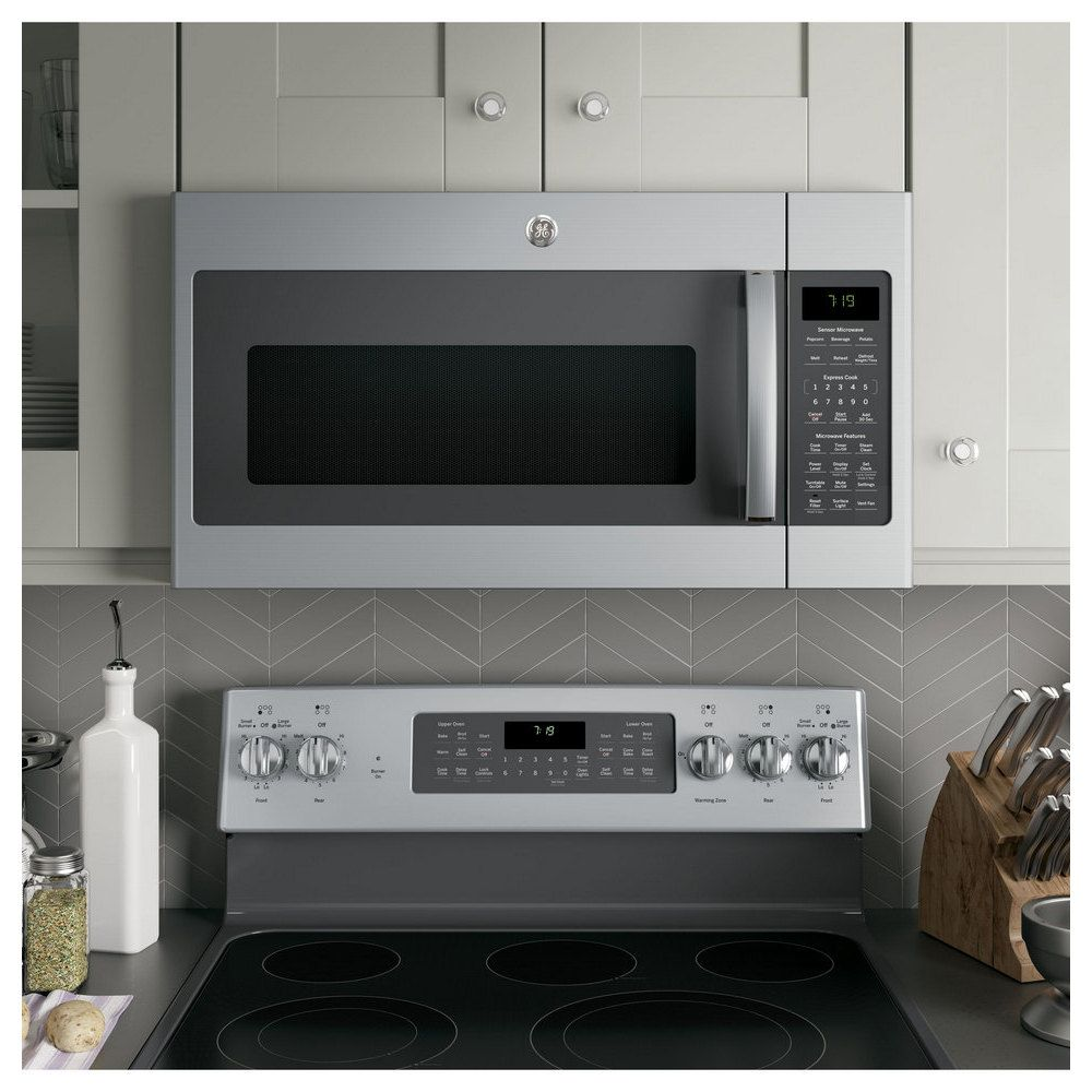 Ge Stainless Steel Oven Microwave Oven Microwave