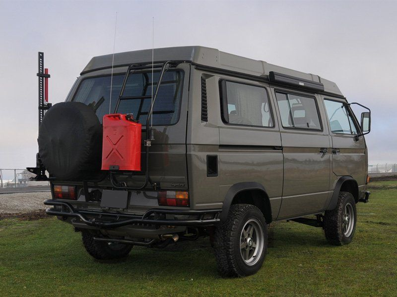 vanagon syncro westfalia volkswagon sweet stealth gray. Black Bedroom Furniture Sets. Home Design Ideas