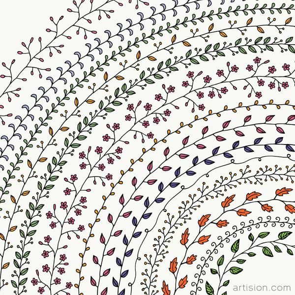 Hand Drawn Pattern Brushes How to draw hands, Pattern