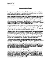 animal rights essay admission essay animal rights essay