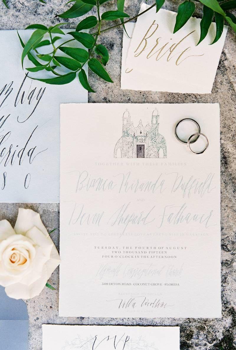 French-Inspired Dusty Blue Garden Wedding via Magnolia Rouge ...