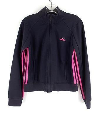 adidas jacket navy pink