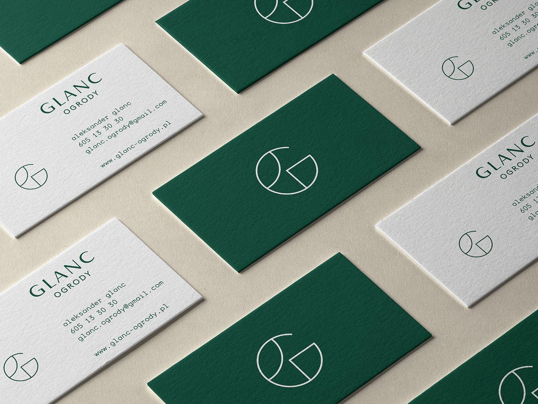 GLANC – GARDENS – Bussines cards