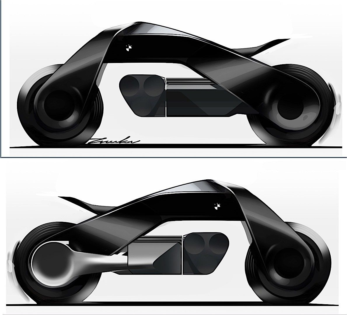Bmw Motorrad Previews Future Bike Through Vision Next 100 Concept