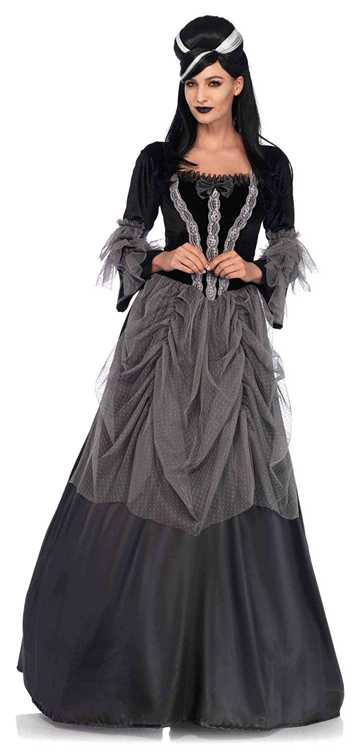 Amazon.com: Victorian Ball Gown Costume - Small - Dress Size 4-6 ...