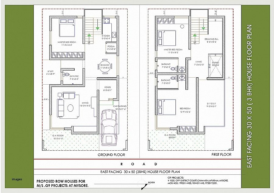 House Plan 25 X 50 Beautiful East Facing House Plans For 25 50 Site Of House Plan 25 X 50 Beautiful 25 50 Hous Barndominium Floor Plans House Plans Floor Plans