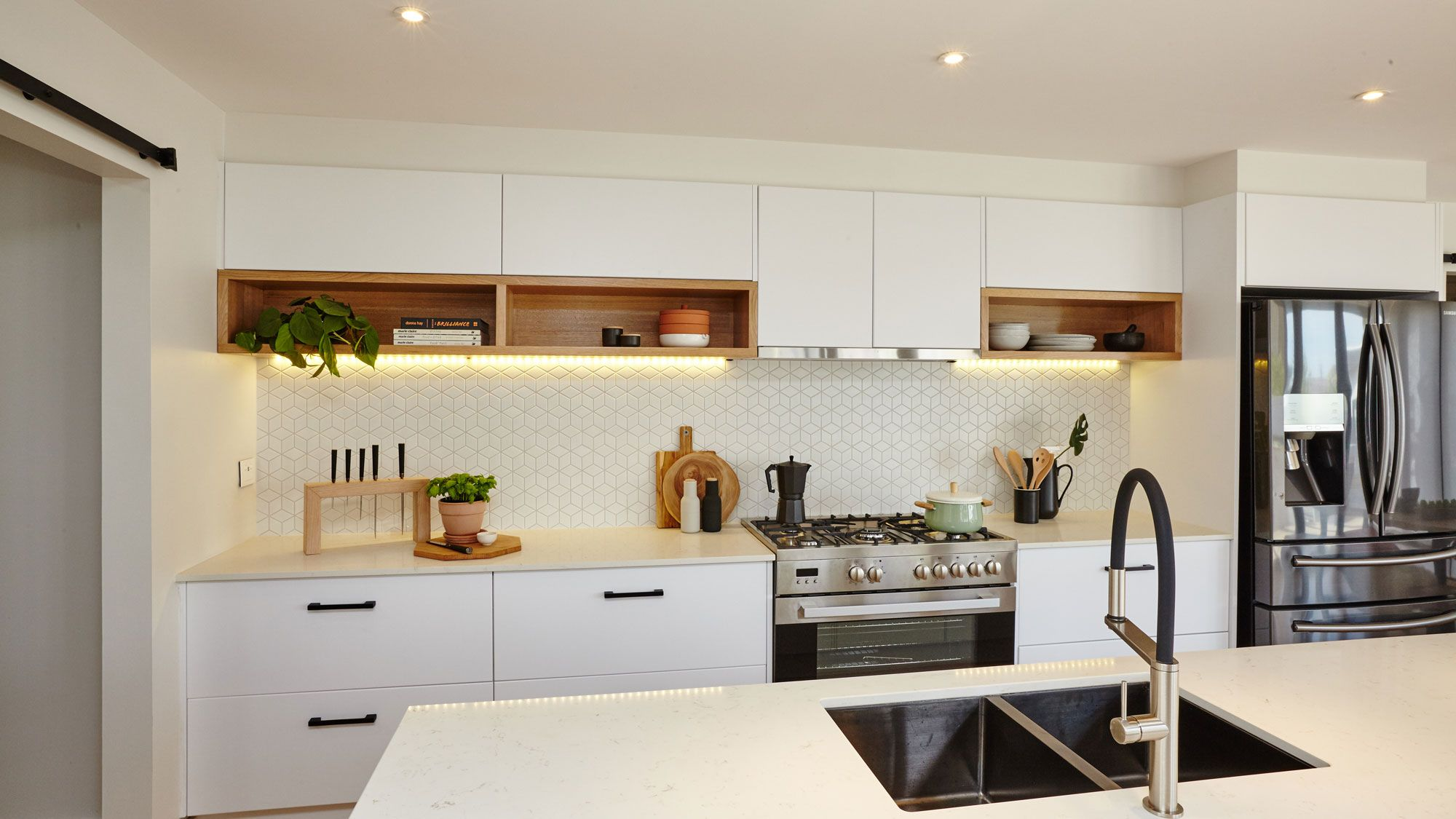 Image result for small pendant light in center of kitchen | Favorite ...