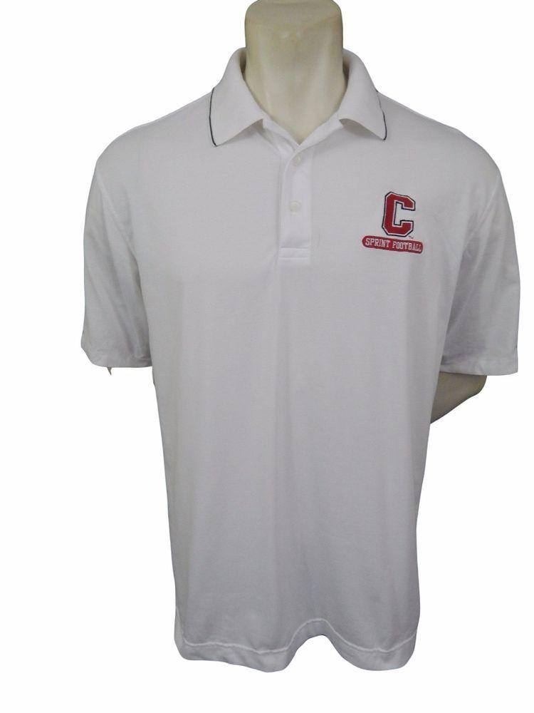 Cornell University Sprint Football Nike Golf Polo Shirt Size L