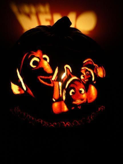 Image Result For Finding Nemo Pumpkin Carving Patterns Pumpkin