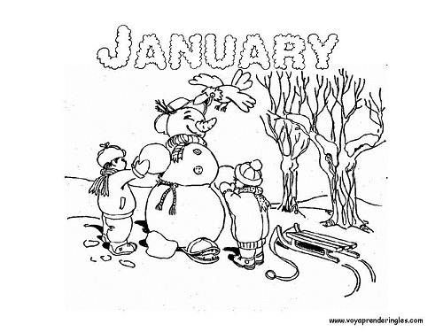 january coloring pages | january coloring sheets: january coloring ...
