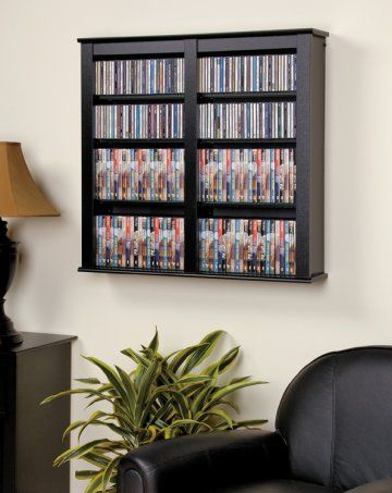Black Double Wall Mounted Storage Wall Mounted Storage Shelves