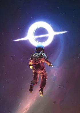 Metal Poster Space 51
