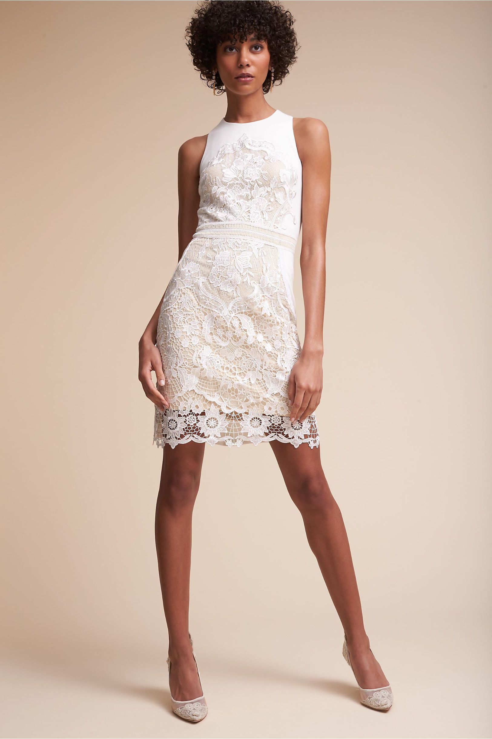 BHLDN\'s James Coviello Ashbury Dress in Ivory/nude | Ivory
