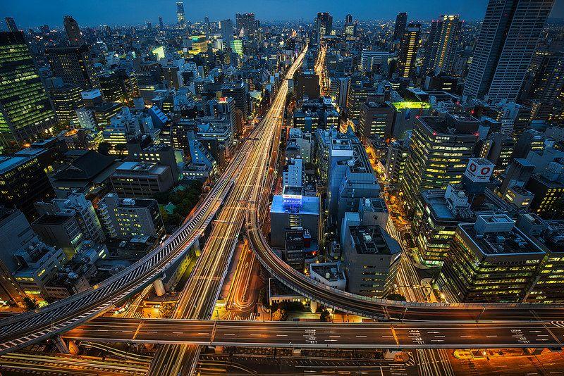 Nishi-Senba / 西船場JCT   Flickr - Photo Sharing!
