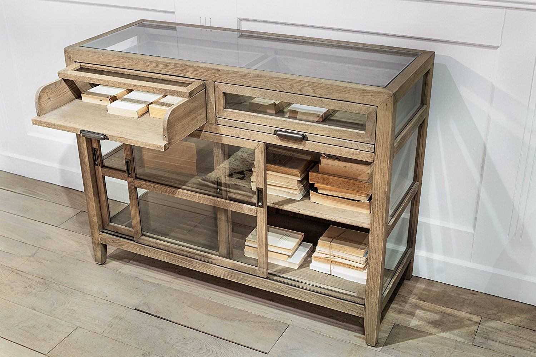 Amazon Com Flamant Lucio Sideboard Weathered Oak Kitchen Dining Weathered Oak Oak Tufted Sofa [ 1000 x 1500 Pixel ]
