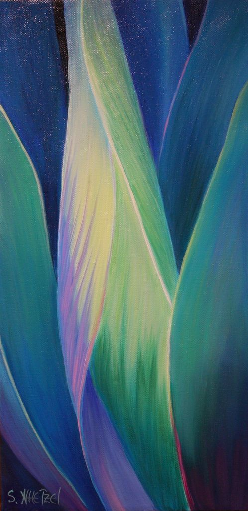 The Unveiling 10x20 Acrylic ©Sandi Whetzel | This is the thi… | Flickr