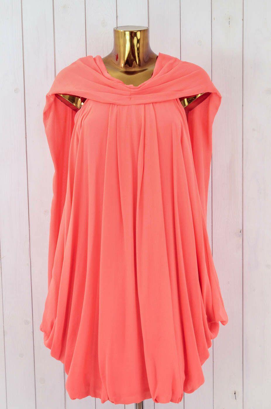 WILLOW Kleid Cocktailkleid Abendkleid Festlich Hummer Orange Rot