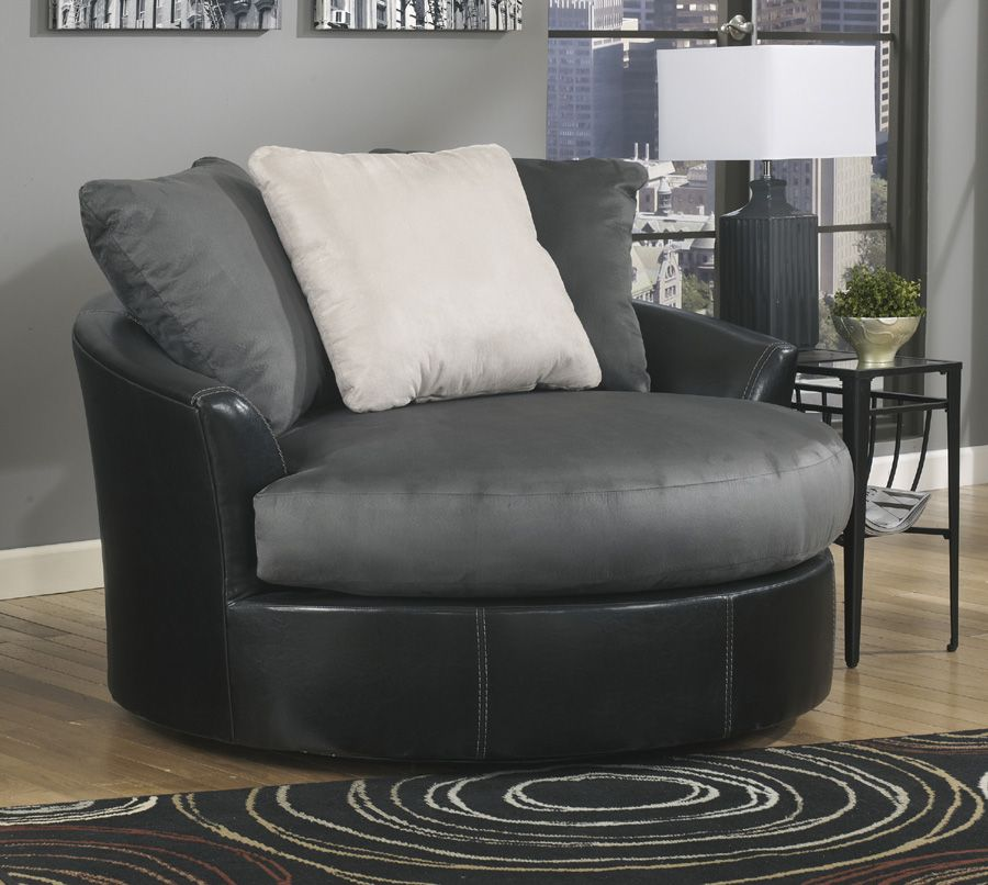 casheral oversized swivel accent chair