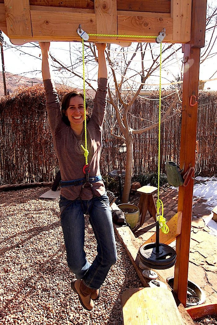 Hangboard Workout With Pulley System Hiking And Climbing