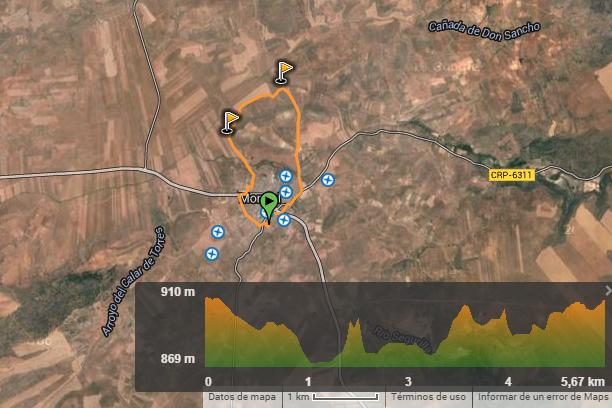Ruta Entre Cerros Rutas Senderismo Y En Castellano