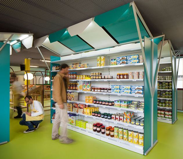 Cartoonish Grocery Shops Store interiors Shop ideas and Interiors