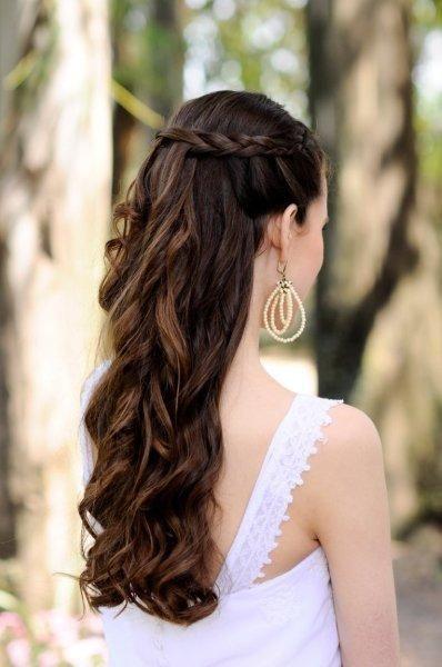 Peinados para boda por la iglesia