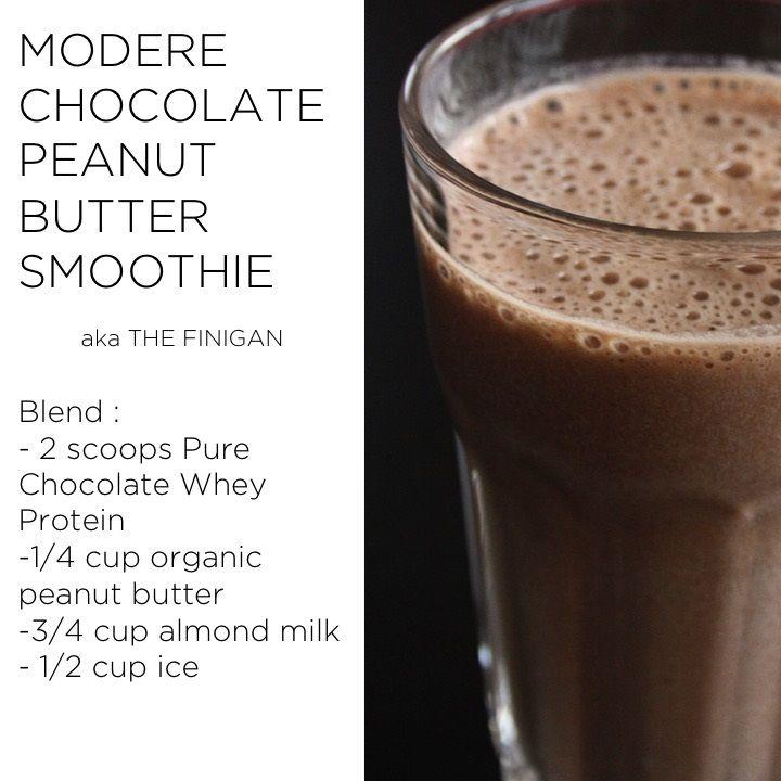 Chocolate Peanut Butter Smoothie  #Chocolate #chocolatelover #peanutbutter #AlmondMilk #healthy #healthyfood #healthyeating #healthylifestyle #healthyliving #proteinpowder #protein #wheyproteinrecipes