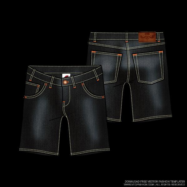 Calça jeans desenho png » PNG Image