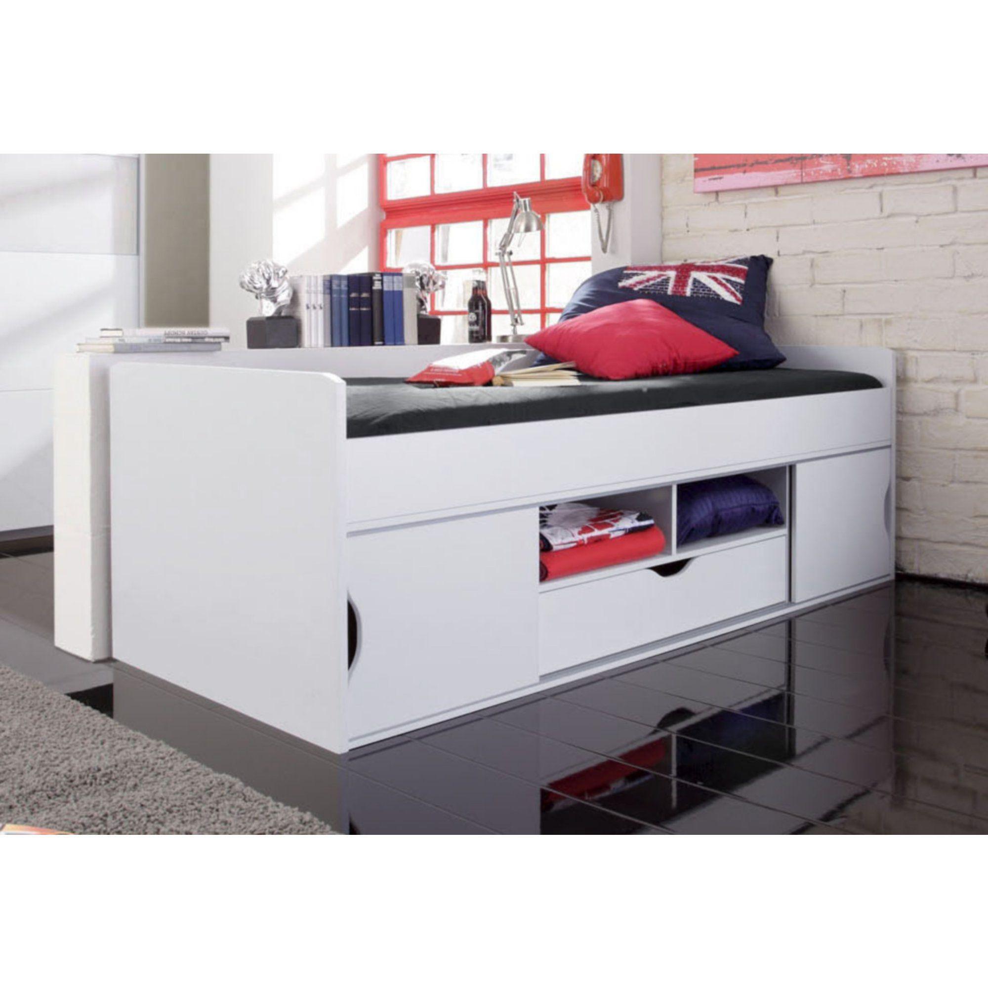 lit combin enfant avec rangements rauch gain de place et. Black Bedroom Furniture Sets. Home Design Ideas