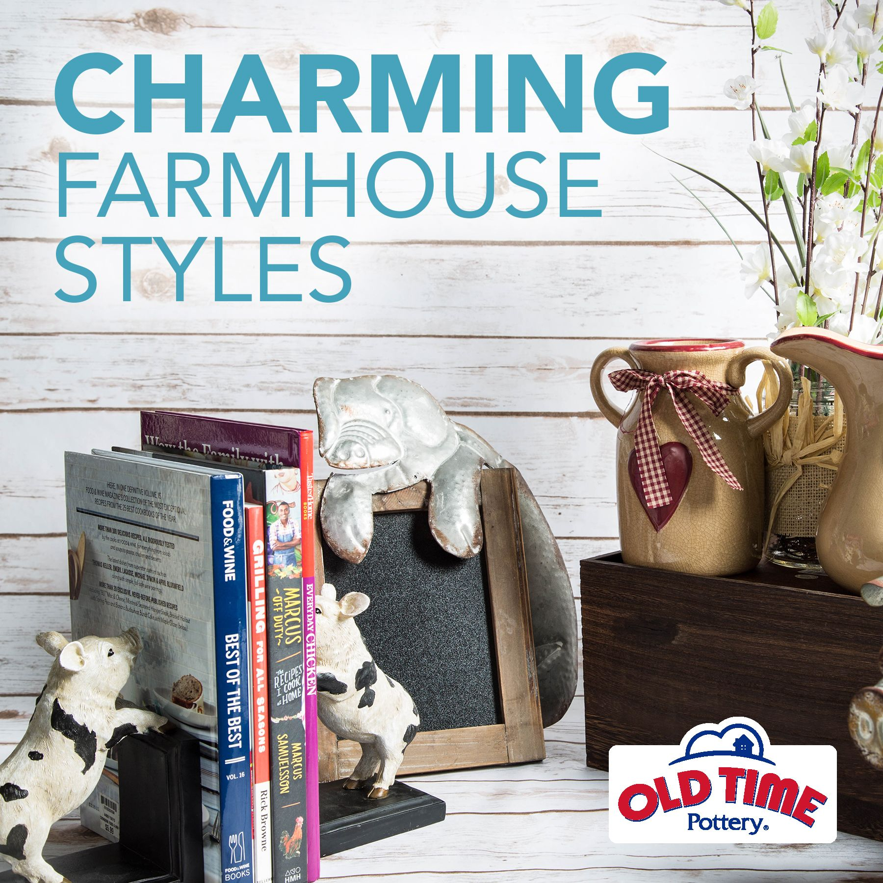 Introducing the Farmhouse Collection at Old Time Pottery Arriving