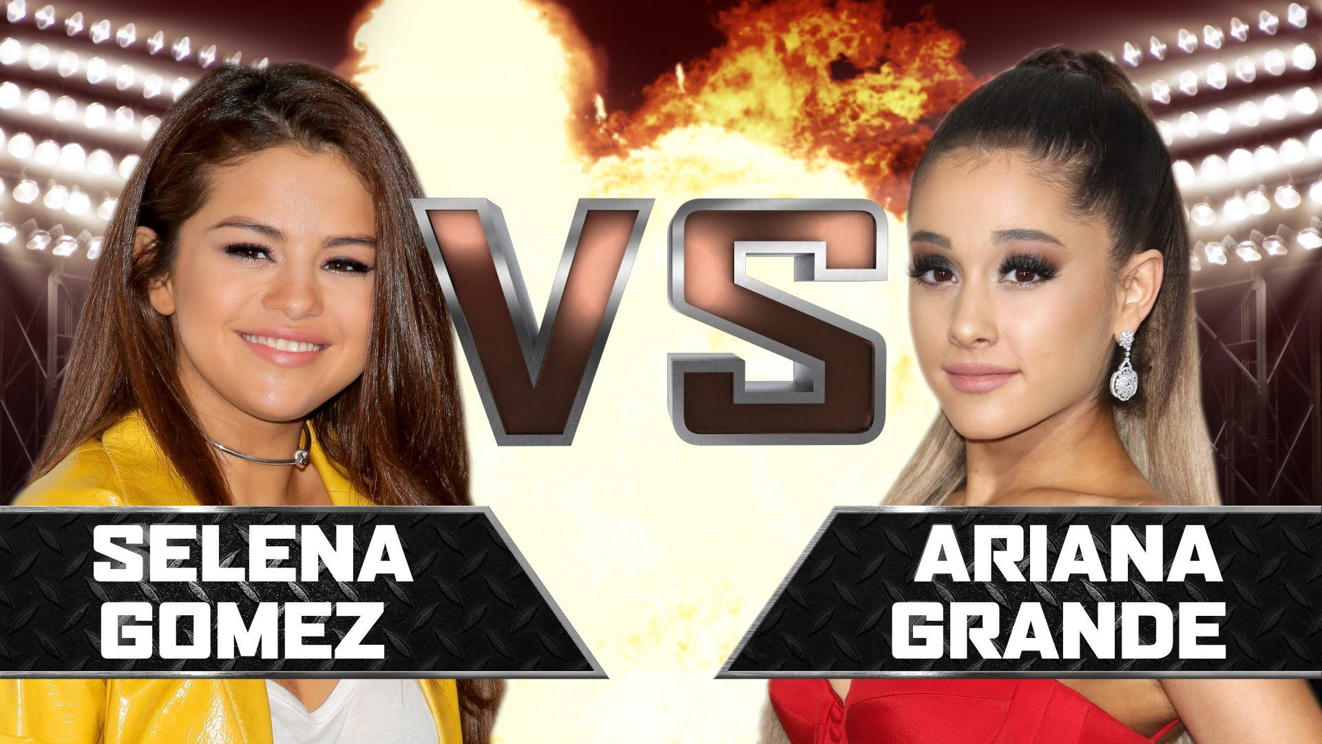 Selena Gomez VS Ariana Grande YouTubers Decide