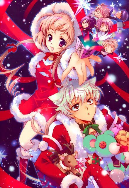 Anime Weihnachten Bilder.Advent Weihnachten Anime Chibi Anime Weihnachten 2017 Anime