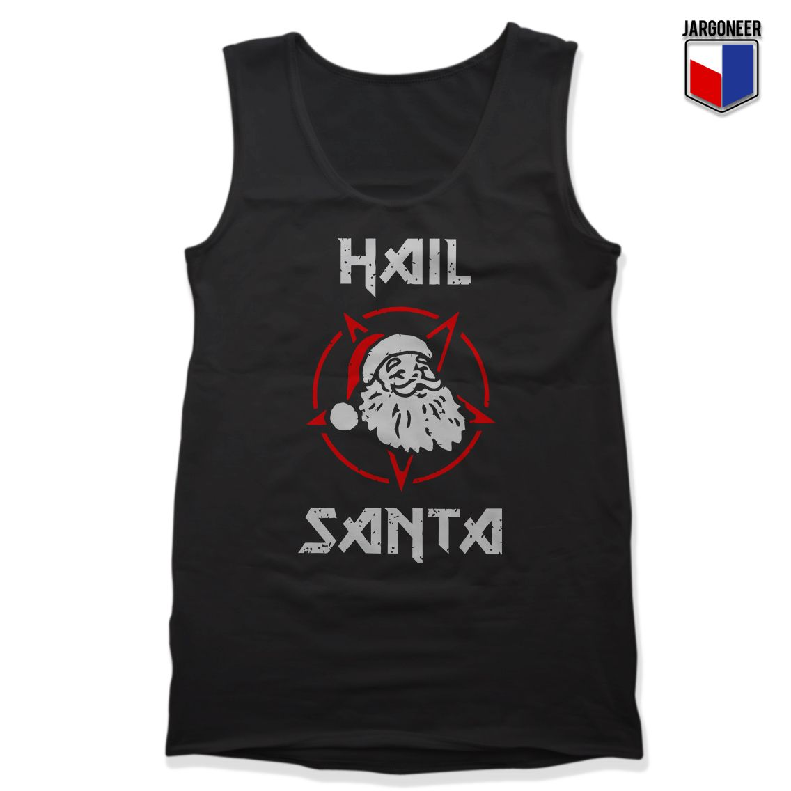 5396b88f6700c Christmas · Unisex · Awesome · Gift · Hail Satan Claus Unisex Adult Tank Top    Price   13.99 Awesome Design for shirt
