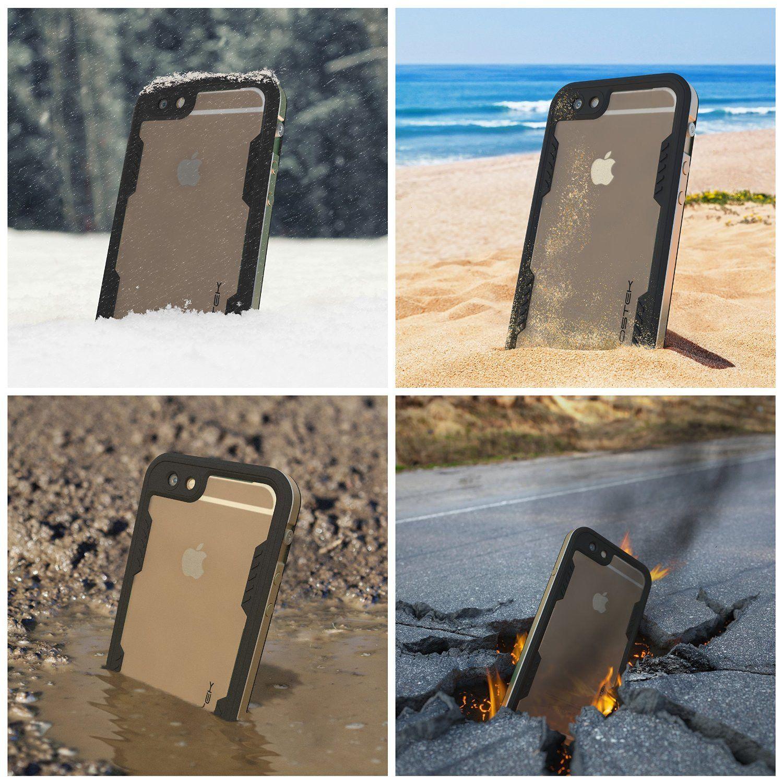 huge discount a359c 0b764 iPhone 6S+/6+ Plus Waterproof Case Ghostek Atomic 2.0 Gold w ...