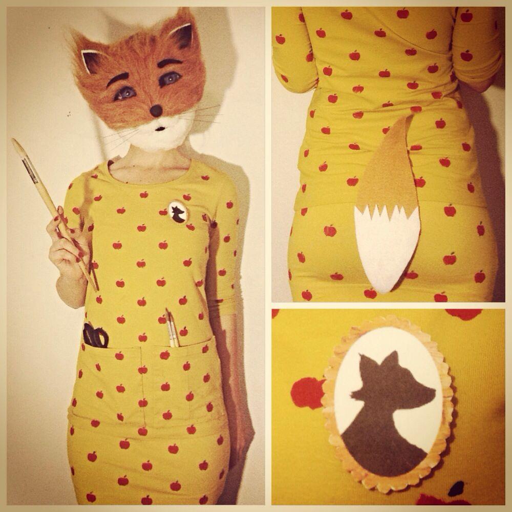 mrs. fox dress | Fantastic mr fox, Fox costume and Mr fox