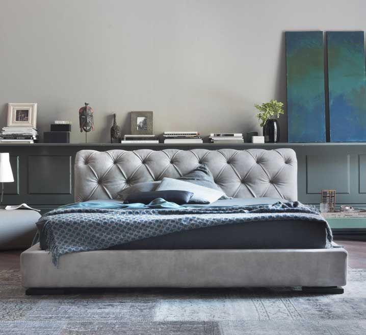 Bett mit matratze 180×200 und inkl. kopfteil chesterfield